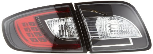 Kit de pilotos traseros LED Mazda 3 sedan modelo BK 04-09 negro