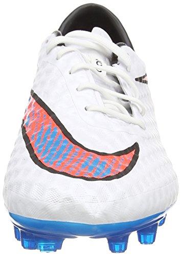 Nike Hypervenom Phantom Firm-ground, Chaussures de Football Compétition Homme Blanc (white/bl Lagoon/ttl Crmsn/blk)