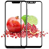 Premium Honor Play Tempered Glass – Premium Full Glue Honor Play Tempered Glass 6D, Full Edge-Edge Screen Protection For Huawei Honor Play 6D- Black