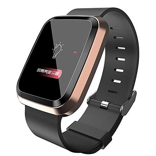 Smart Watch, CHshe L18 Bluetooth Smartwatch Mode Rundes Platz Zifferblatt Multi-Sportarten Wasserdicht Ip68 Pulsmesser Sports Fitness Aktivity Tracker Smartwatch Für Android Ios -