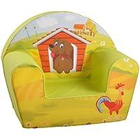Knorrtoys 68314 - Kindersessel Dog on a farm preisvergleich bei kinderzimmerdekopreise.eu