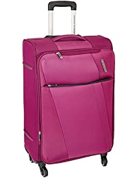 American Tourister Michigan Polyester 79 cms Magenta Suitcase (AMT Michigan SP79CM TSA MAGNTA)