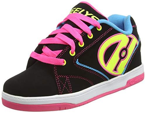 Heelys Mädchen Propel 2.0 770512 Sneakers, Mehrfarbig (Black/Neon Multi), 36.5 EU (4 UK)