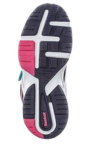 Reebok  REEBOK ALMOTIO 2V, Chaussures Multisport Outdoor garçon - blau/weiß/pink