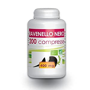 Ravanello Nero - Box di 200 compresse da 400 mg