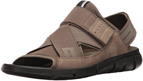 Ecco Herren Intrinsic Sandal, Grün (55894tarmac/Tarmac), 45 EU