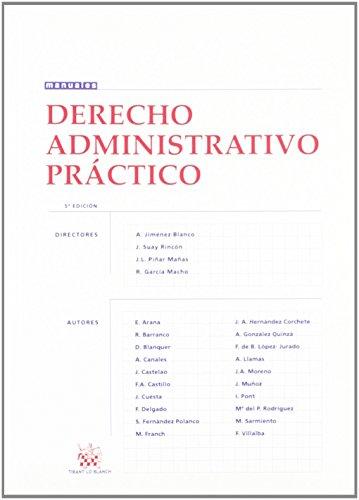 Derecho Administrativo Práctico de A. Jiménez Blanco Carrillo (1 oct 2002) Tapa blanda