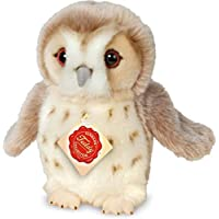 """Teddy Hermann 941545"""" Owl Soft Toy, Beige, 20 cm"""