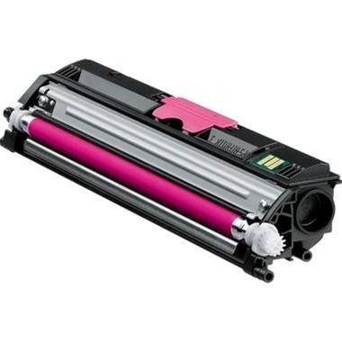 1650en Farbe (High Quality Eurotone Toner Cartridge MAGENTA für Konica-Minolta QMS 1600 Serie, Magicolor 1600 W + 1650 EN / EN D / EN DT + 1680 MF + 1690 MF)