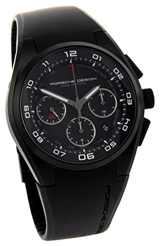Porsche Design Dashboard Chronograph Automatic Black PVD Titanium Mens Watch Calendar 6620.13.46.1238