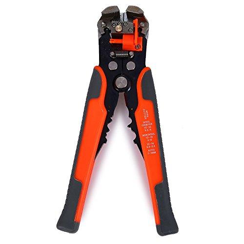Preisvergleich Produktbild Draht gestrandet Abisolierwerkzeug Kabel Stripper Zange Industrie Draht Schneiden 20,3cm sich automatisch