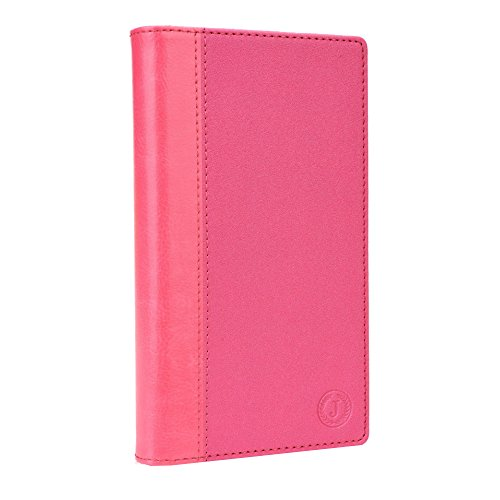 Jo Jo Cover Millar Series Leather Pouch Flip Case For Apple iPhone 5C 32GB Pink Pink  available at amazon for Rs.290