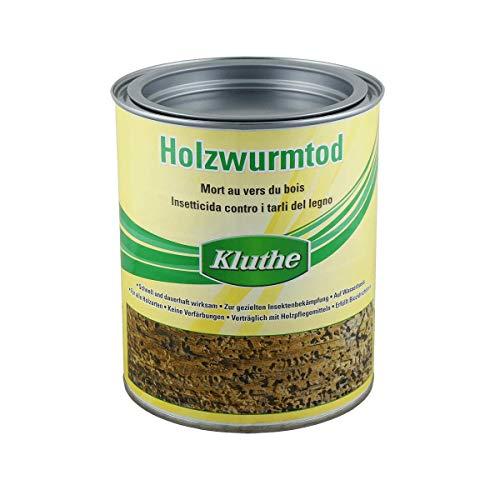 """Kluthe Holzwurmtod 750ml \""""Biozidprodukte vorsichtig verwenden. Vor Gebrauch stets Etikett und Produktinformationen lesen.\"""""""