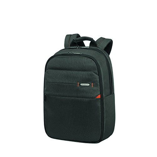 SAMSONITE Network 3 - Laptop Backpack 14.1 Rucksack, 40 cm, 16 L, Charcoal Black