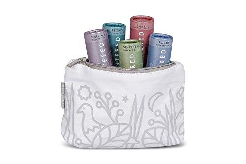 Scentered Coffret cadeau de 5 baumes d'aromathérapie en stick - le kit de survie ultime à emporter