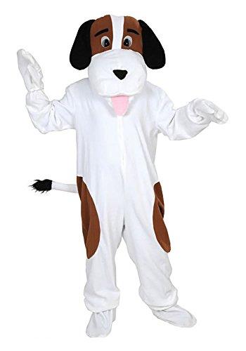 Hund Bernhardiner Einheitsgrösse L-XL Kostüm Fasching Fastnacht Maskottchen