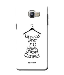 Be Awara Boring Clothes Back Cover Case for Samsung Galaxy A9