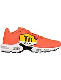 hot sales 37140 d0a48 NIKE Air Max Plus TN Tuned 1 One Big Logo Sneaker Laufschuhe RARITÄT orange  weiß