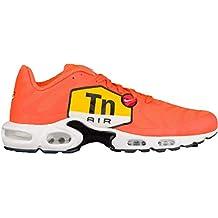premium selection 771a2 d0fee NIKE Air Max Plus TN Tuned 1 One Big Logo Sneaker Laufschuhe RARITÄT orange weiß