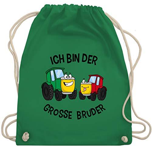 Geschwisterliebe Kind - Ich bin der grosse Bruder Traktor - Unisize - Grün - WM110 - Turnbeutel & Gym Bag