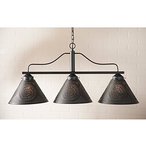 Barrington Large Bar Light by Irvin's Country Tinware -