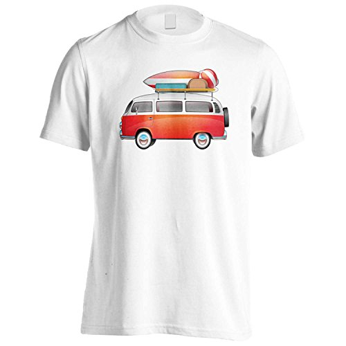 Vw Volkswagen Camper Surf Board Novedad Camiseta de los hombres mm96m