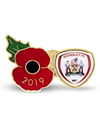 The Royal British Legion Barnsley Poppy Football Pin 2019