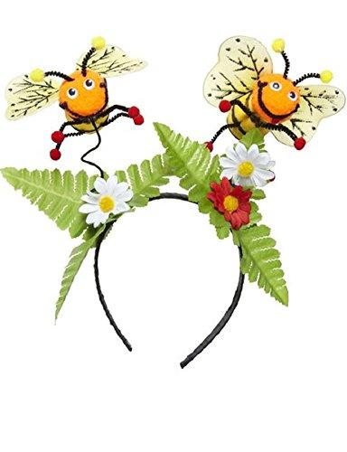 Mädchen Kinder Kleinkind Biene Gelb Schwarz Fancy Dress Tutu Bopper Wand Leotard Catsuit -Mix & Match Outfit (Einheitsgröße, Bienengarten (Transformatoren Outfit)