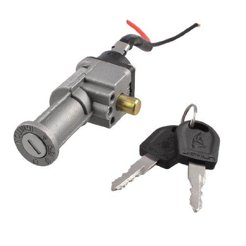 sourcingmap® Interruttore di avviamento elettrico per bicicletta Scooter-60 V chiavi