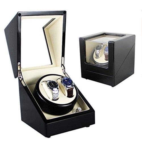 Winder Full automatische mechanische Uhr Box Motor rotierenden Box oberen String Box Schütteln Tabelle. (Farbe : 2+0F) ()