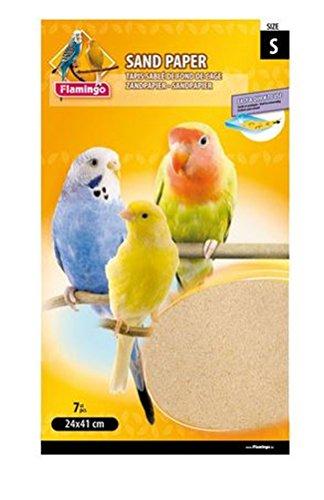 Cajou 84 Stück Vogel-Sandteppich hygienisch sauber, einfach zu reinigen (24 x 41 cm)