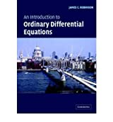 [(An Introduction to Ordinary Differential Equations)] [ By (author) James C. Robinson ] [February, 2004]
