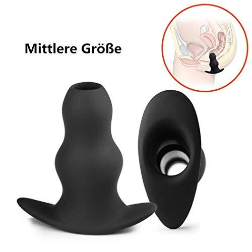 ugs Höhle Butt Plug Anal Dildo Expansion Einlauf Werkzeug Sex Spielzeug für Männer und Frauen (Medium) ()