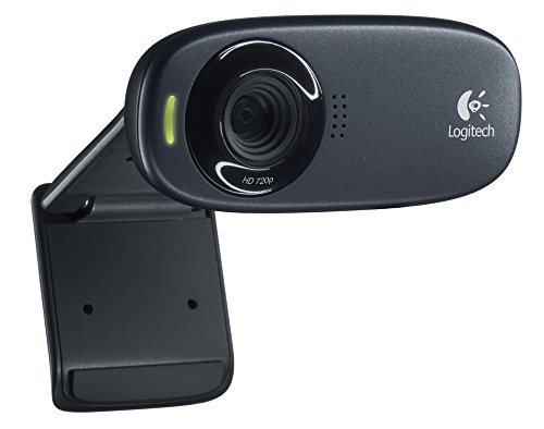 Logitech C310 HD Webcam - 720p, schwarz