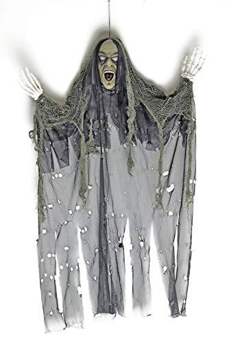 Körner Festartikel Geist Gespenst Wiedergänger Halloween Deko 85 x 70 cm - Gruselige Horror Dekoration für Halloween Mottoparty (Gruselig Dekoration Halloween)