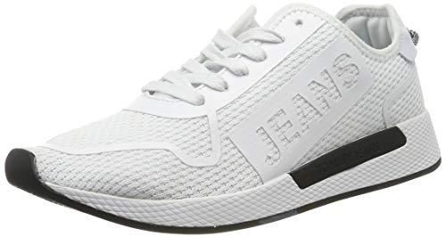 Tommy Hilfiger Herren Technical Details Flexi Sneaker, Weiß (White 100), 42 EU Details Sneaker