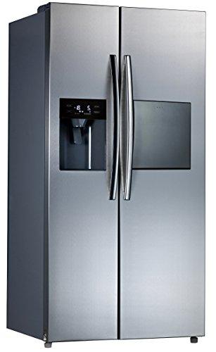 Comfee SidebySide 502 NFA+ NA/A+/178.8 cm 408kWh/Jahr /339 L Kühlteil /163Gefrierteil/Total No Frost & Multi-Air Flow/Edelstahloptik Front - Die Kombination Eis-maker