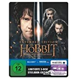 Der Hobbit: Die Schlacht der fünf Heere - Limited Extended Steelbook Edition - Blu-ray