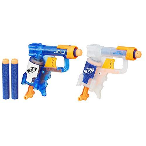 Hasbro Nerf B5817EU4 N-Strike Jolt 2 Pack, Spielzeugbalster
