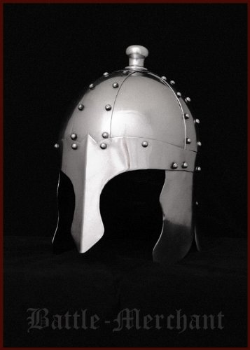 König Arthur Helm mit (Wikinger König Kostüm)