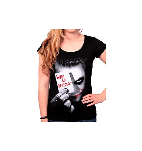 Batman The Dark Knight - Why So Serious? Maglia donna nero L