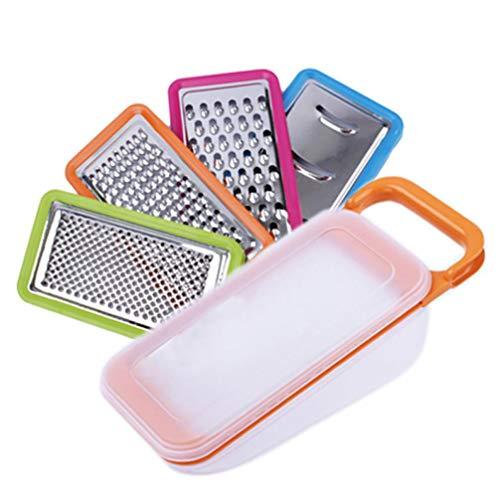 4 Multifunktions- 1 Reibe Slicer Spiralizer Frucht-Gemüse-Werkzeuge Cutter Grater Posten Küche Zubehör Kartoffelschneider