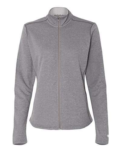 5,4 ml Colorblock Performance-Giacca a Zip intera Slate Grey Heather