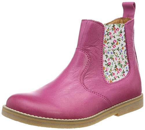 Froddo Mädchen G3160098-1 Girls Chelsea Boots, Pink (Fuchsia I19), 34 EU