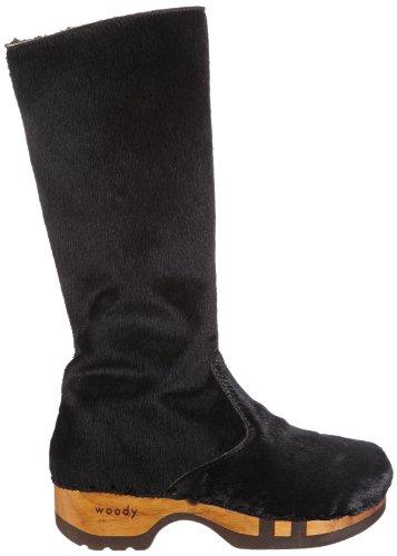 Woody 10316 Belinda, Bottes femme Noir (Noir-TR-L4-179)