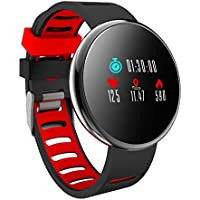 YoYoFit HR Fitness Tracker Watch, 2018 Waterproof Activity Tracker with Heart Rate Blood Pressure Monitor, Wearable Smart Bracelet Pedometer Watch for Women Men Kids