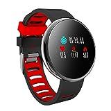 YoYoFit Orologio Fitness Activity Tracker, Impulsi Pressione Sanguigna Pedometro Impermeabile Monitoraggio della Frequenza Funzione di Gioco Smart Watch Android IOS Uomo Donna Bambini Dauomo