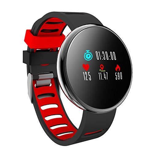 YoYoFit Fitness Armband Tracker Activity, IP67 Wasserdicht Schrittzähler Uhr mit Pulsmesser Blutdruck Kalorienzähler Spielfunktion Smart Watch Android IOS für Kinder Damen Herren