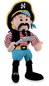 Fiesta Crafts- Fiesta Crafts-T-2786-En la Mano de Marionetas-Pirata con Rayas (T-2786)