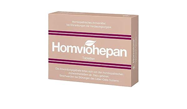 Homviohepan Tabletten 75 Stk Amazonde Drogerie Körperpflege